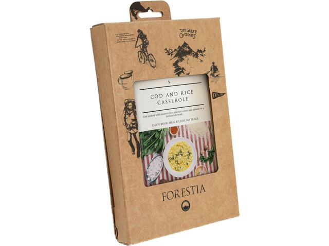 Forestia Heater Comida Outdoor Carne 350g, Cod and Rice Casserole